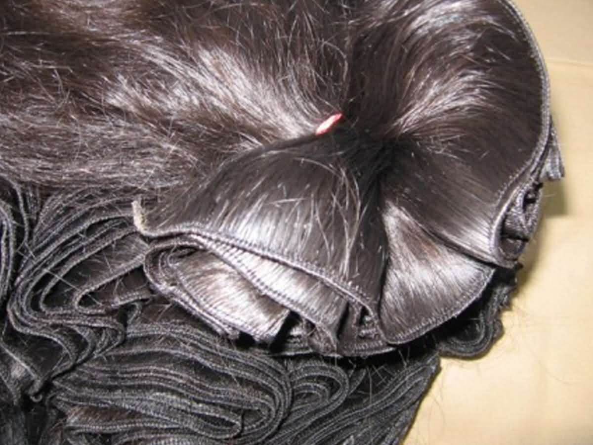 Indian Human Hair Extensions 1