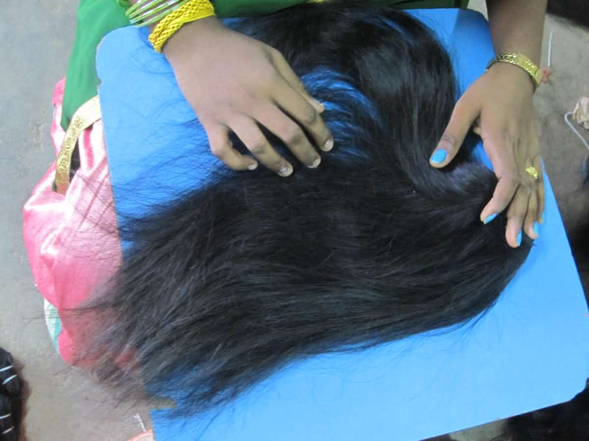 Removing the lice from Hair Extensions