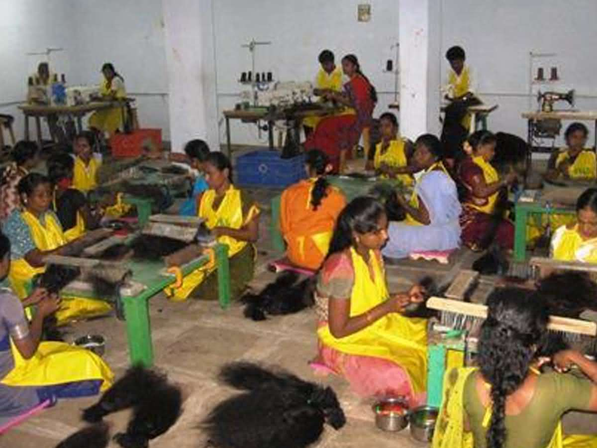 wholesale Indian hair factory